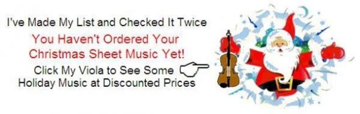 Holiday Music Reminder