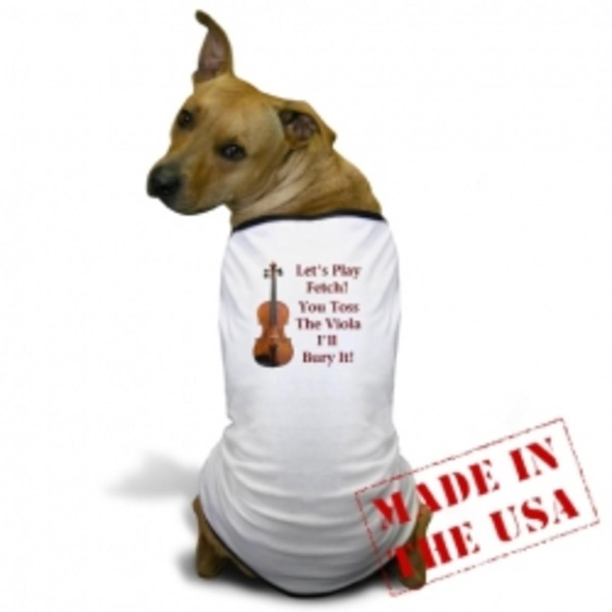 Viola Dog Shirt