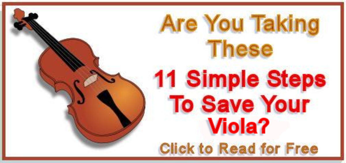 Violin and Viola Care Tips