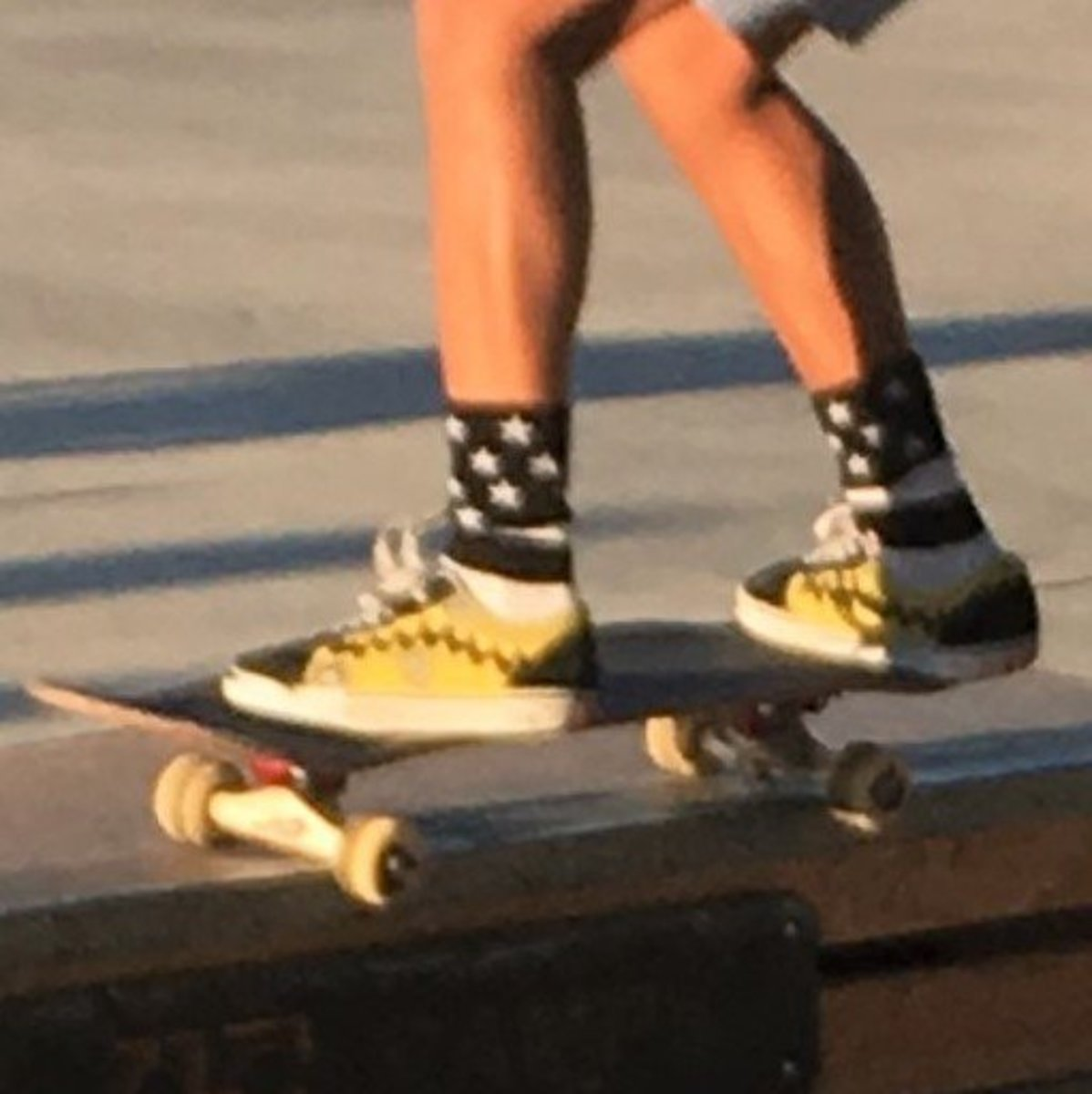 Skaters dare to be different, even in what they wear.