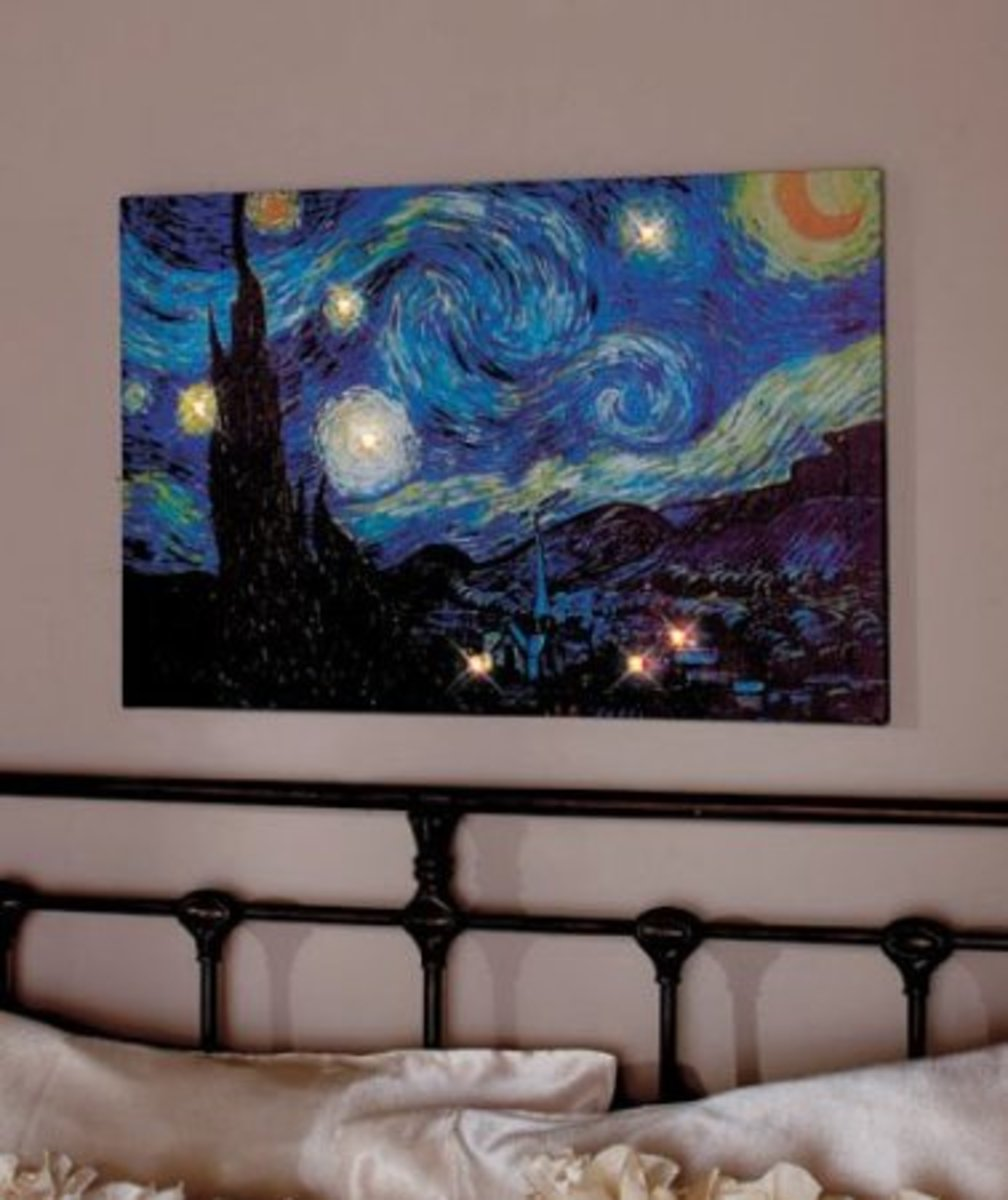 Vincent van Gogh's Starry Night Wall Art