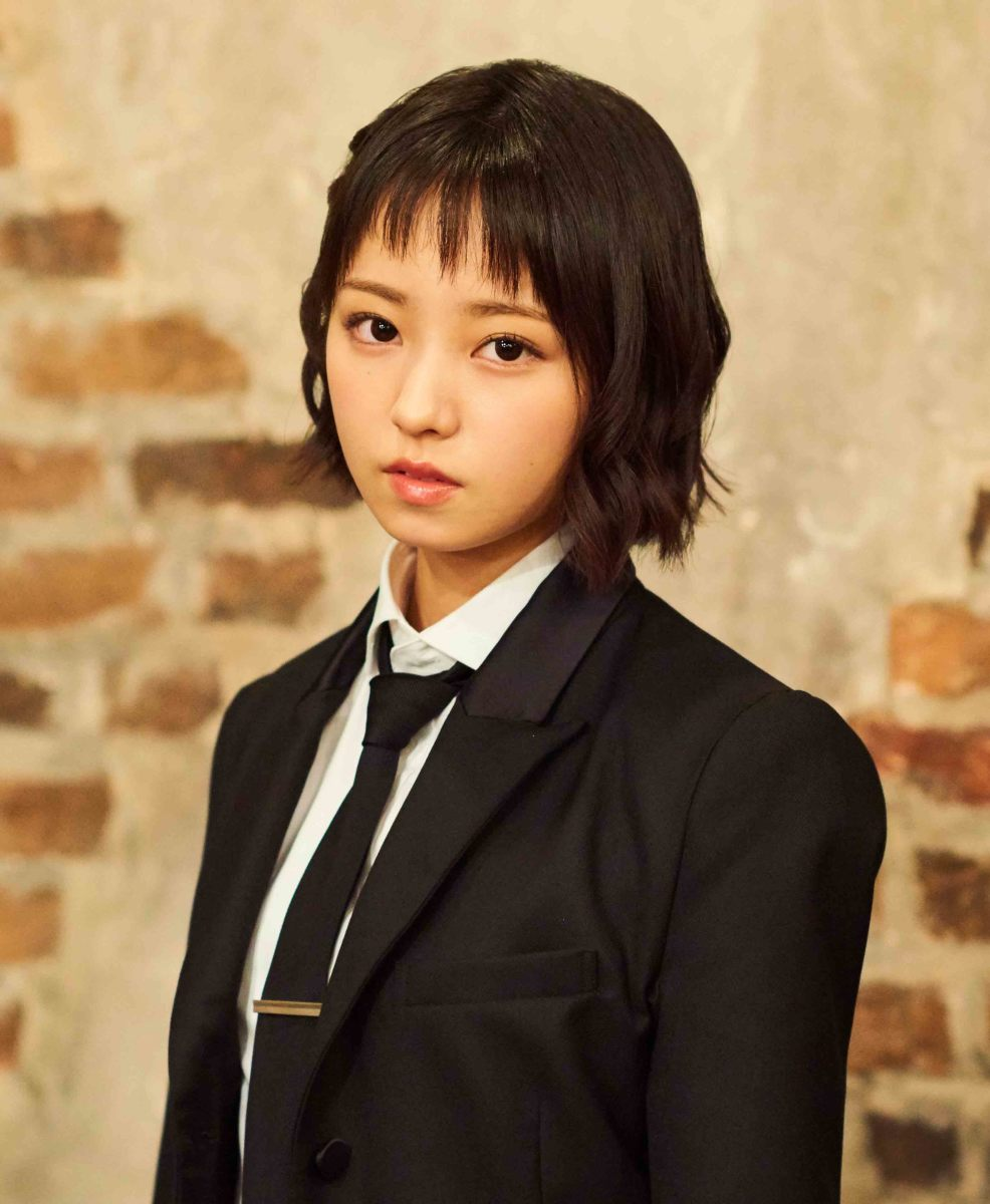 Yui Imaizumi during the photo session for the song called Kaze ni Fukarete mo.