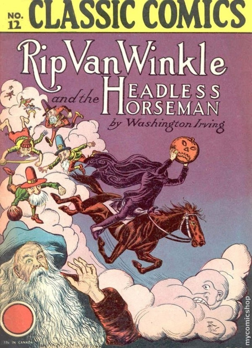 Rip Van Winkle/ Headless Horseman ( Sleepy hollow) - Washington Irving