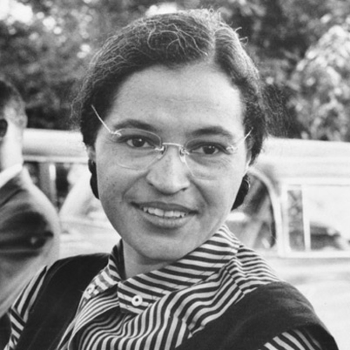 Civil rights icon Rosa Parks.