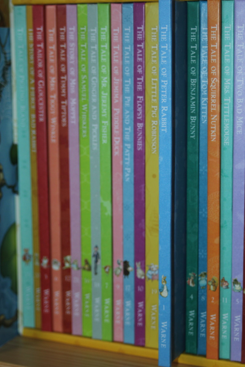 """""""Peter Rabbit"""" Collection, by Beatrix Potter"""