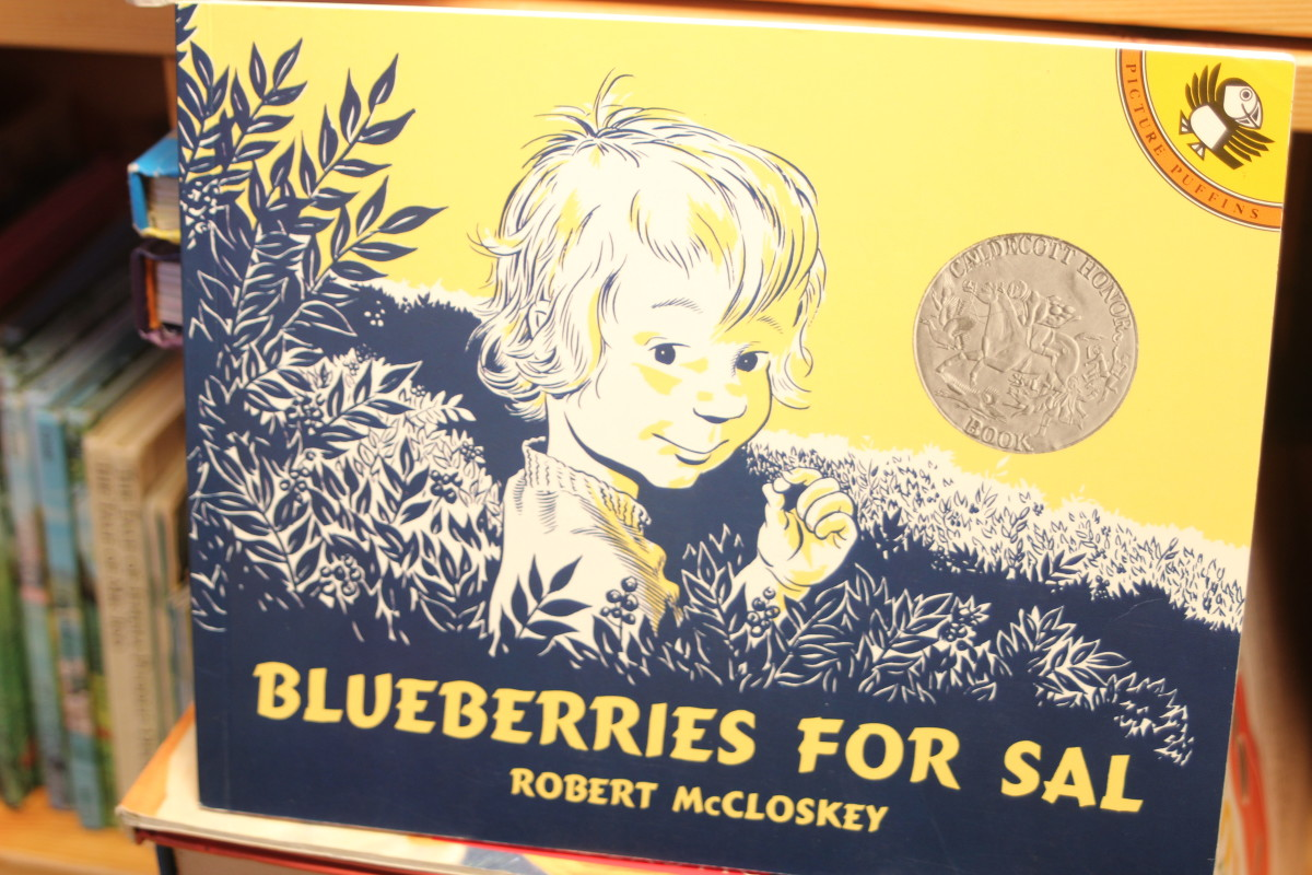 """""""Blueberries for Sal"""", by Robert McCloskey"""