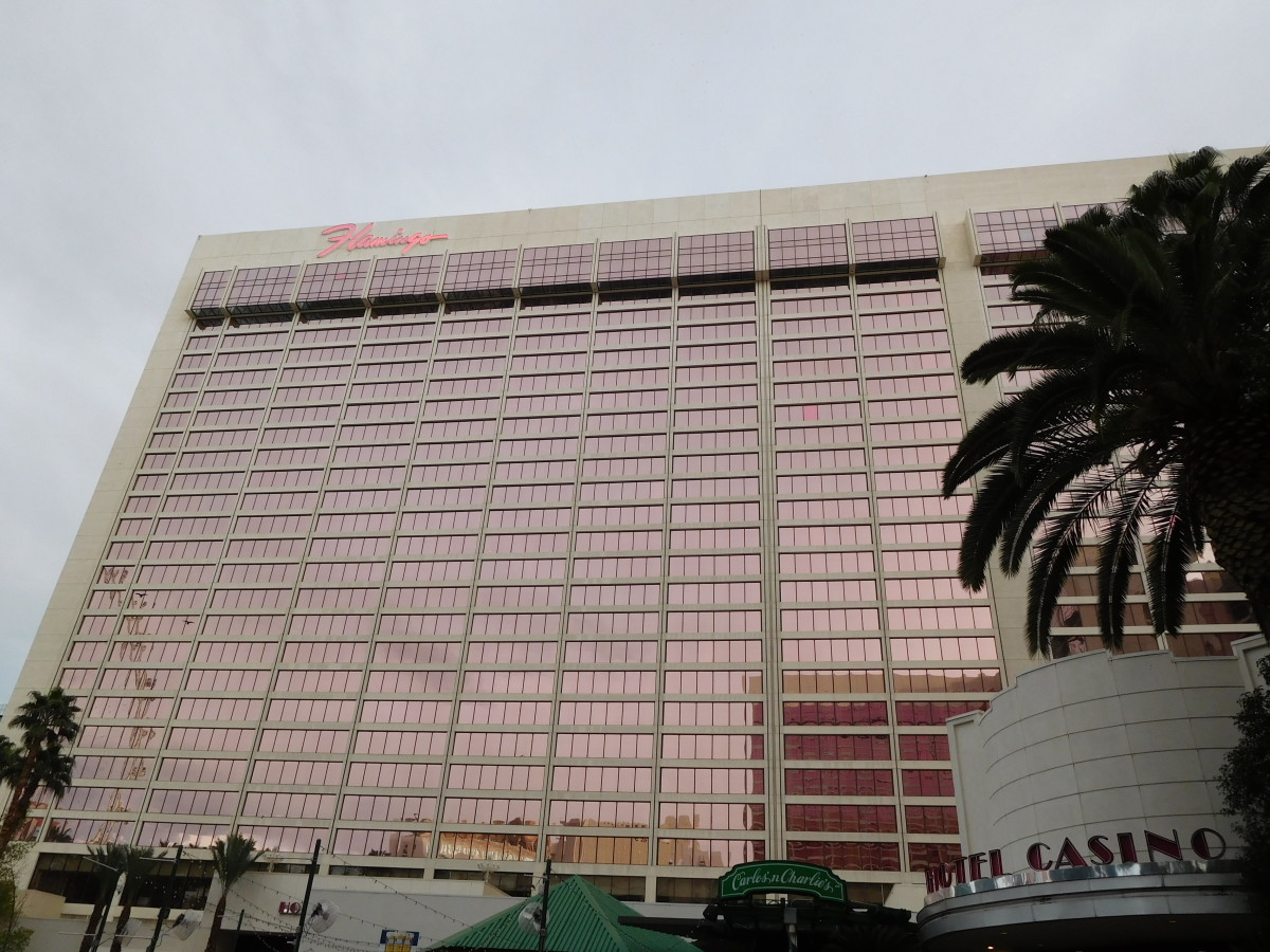The Flamingo in Las Vegas, Nevada