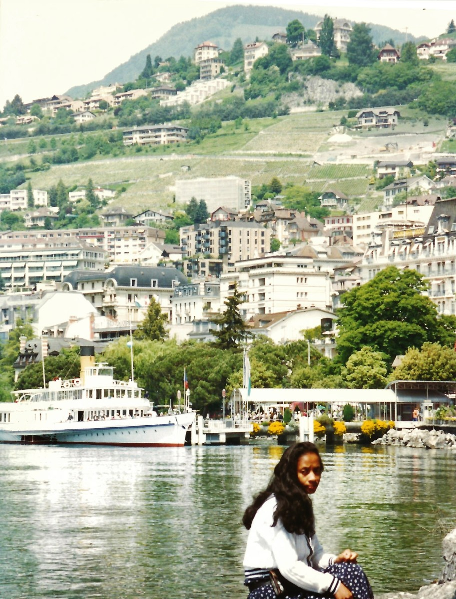 Montreux, Switzerland scenery