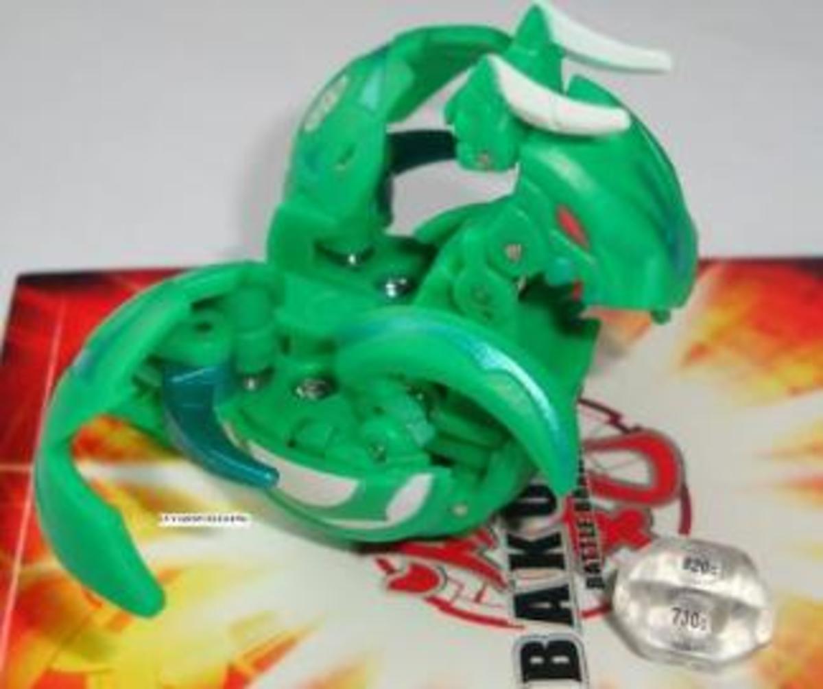 Green Ventus Chance Dragonoid