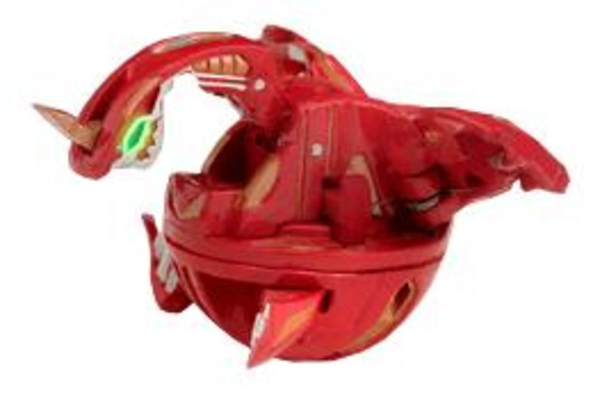 Red Pyrus Spin Dragonoid