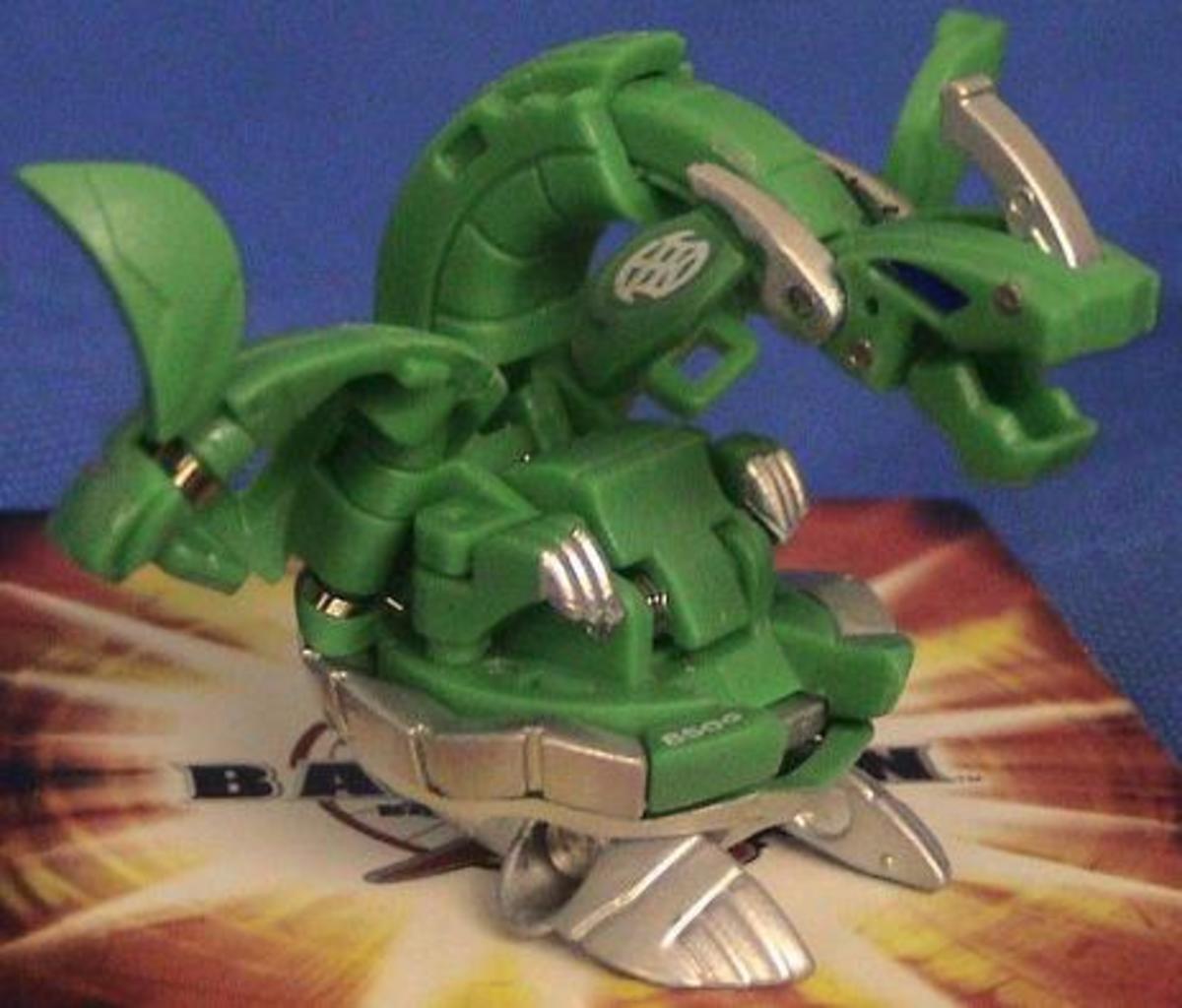Green Ventus Iron Dragonoid