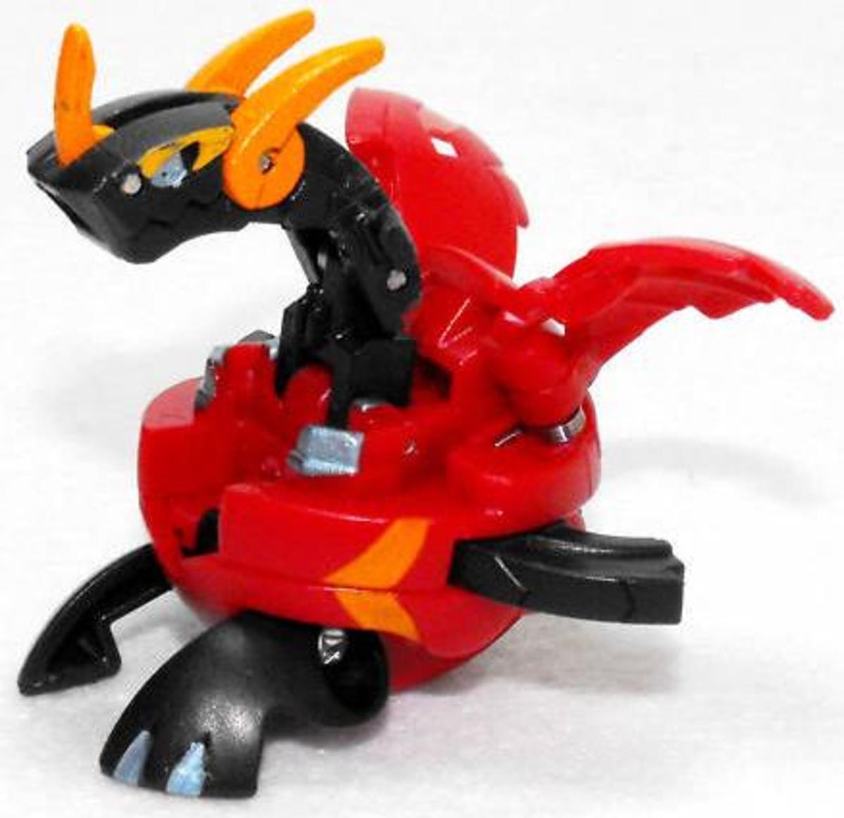 Bakugan Dragonoid & All Evolved Drago Bakugan Toy