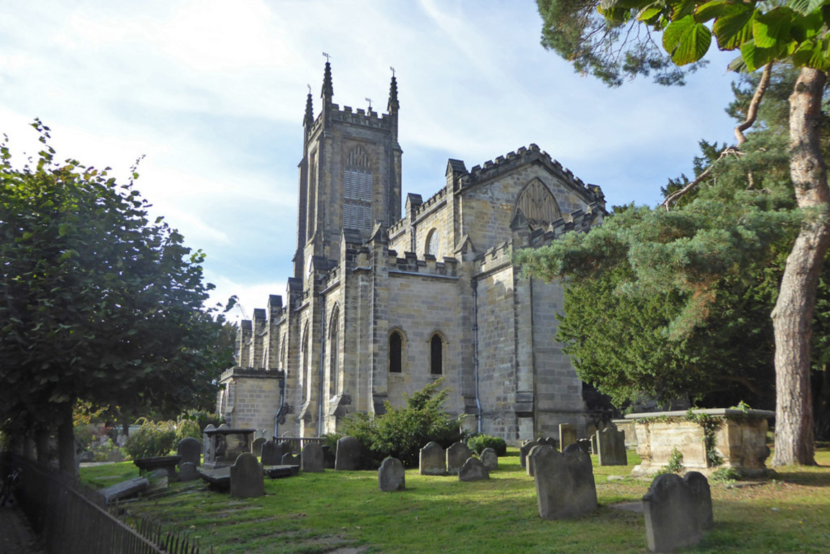 East Grinstead is home to traditional faith groups such as St. Swithun's Church of England.