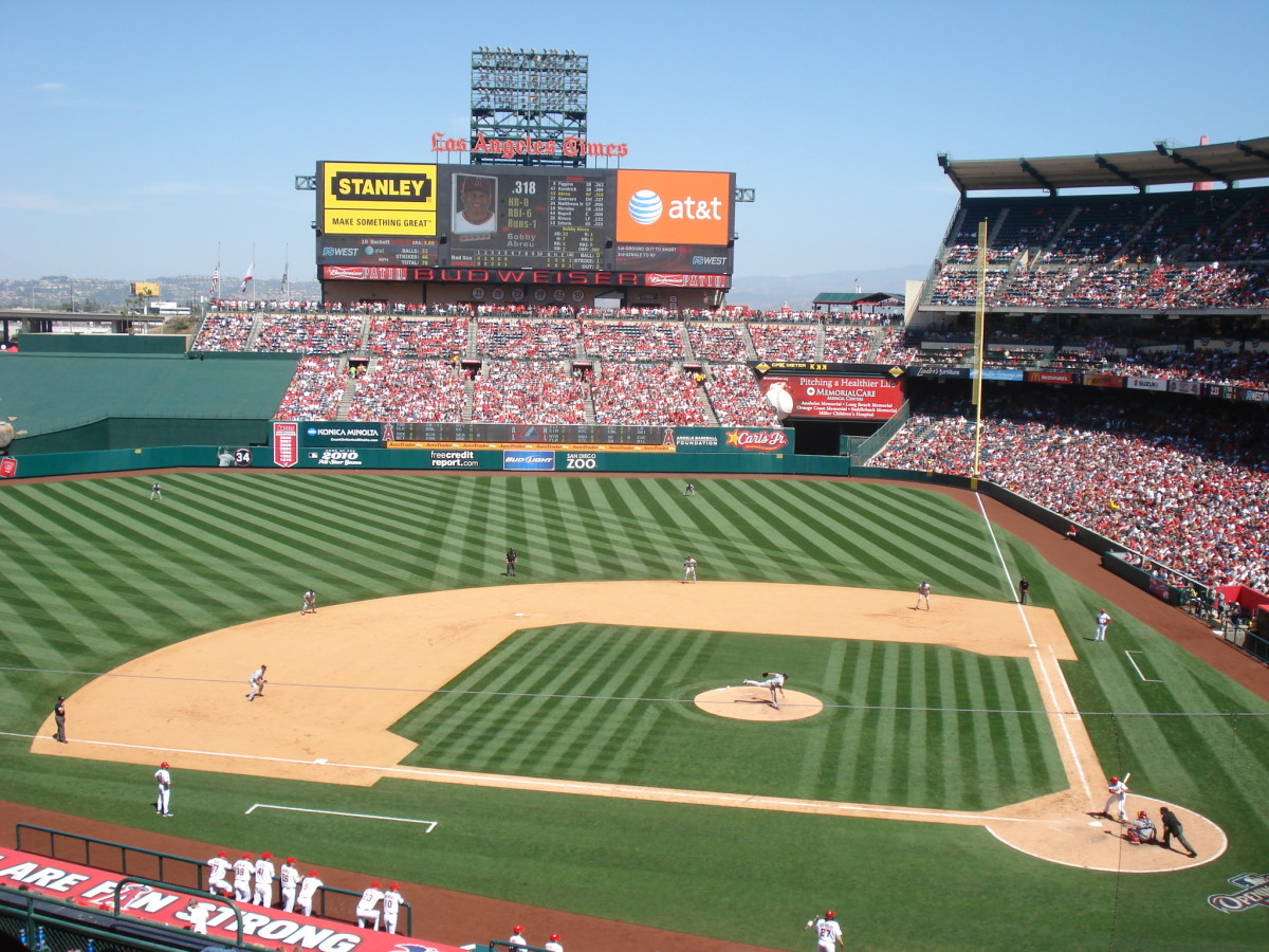 The Angels face the Red Sox during the 2009 season. Boston was a playoff nemesis during several of the greatest seasons in Angels history.
