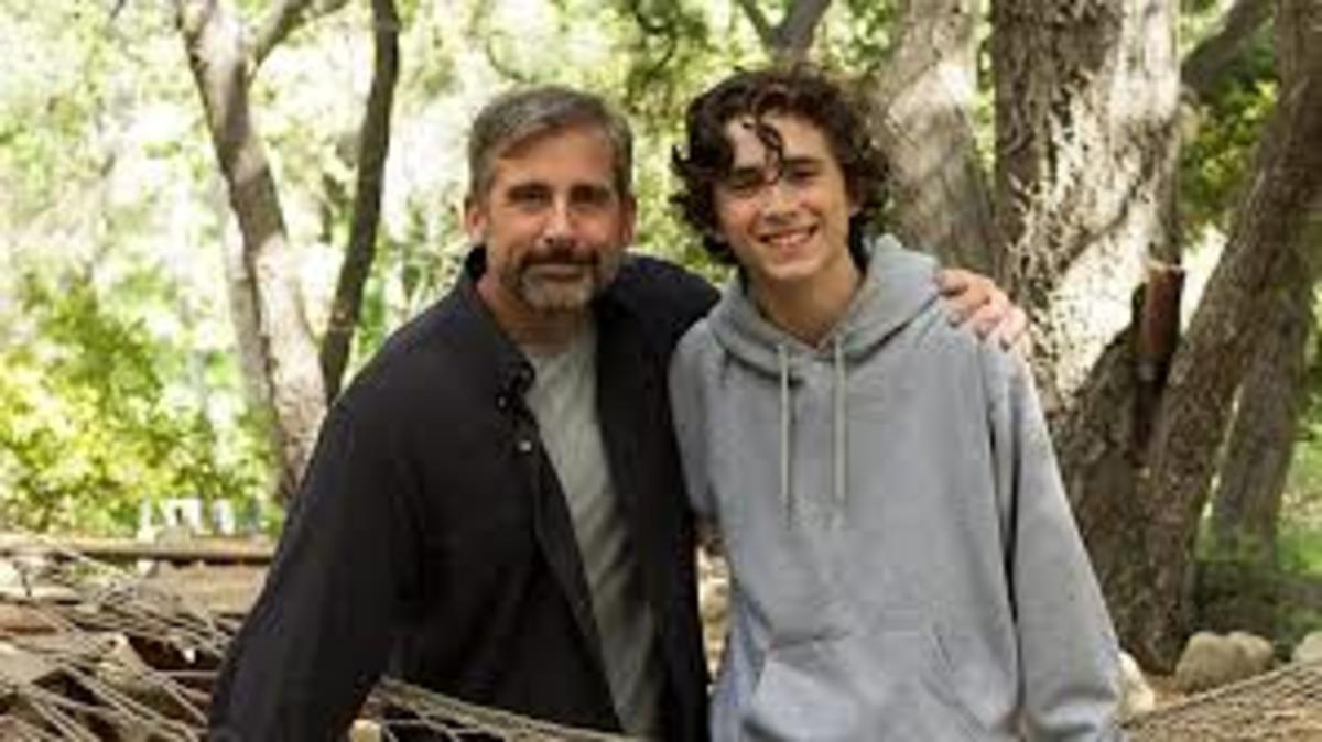 In Beautiful Boy, the father stayed by his son's side and helped him through his recovery process.