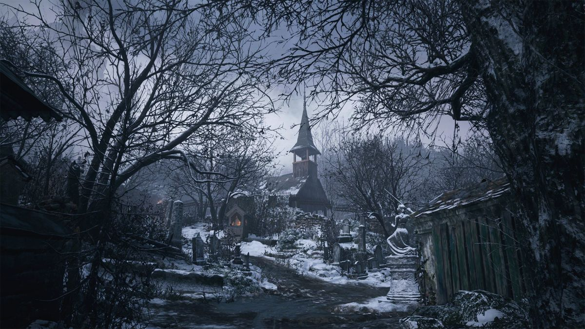"""""""Resident Evil Village"""" will release on May 7, 2021, for PC, PlayStation 4, and Xbox One."""
