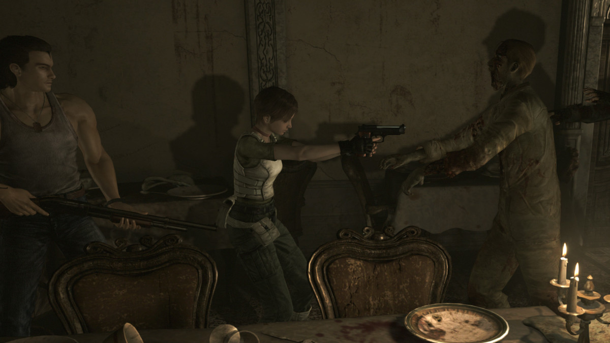 """""""Resident Evil 0"""" challenged players to control two characters simultaneously throughout its story."""