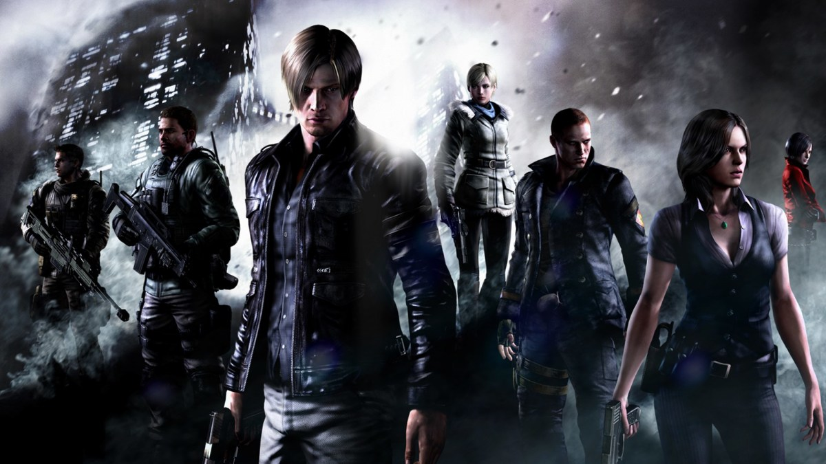 """""""Resident Evil 6"""" featured an ensemble cast of heroes from throughout the series."""