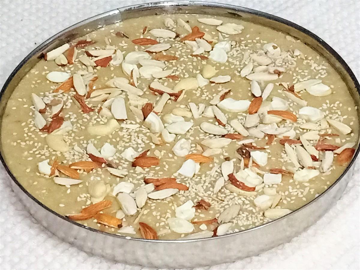 Til bhugga is a sesame seed fudge