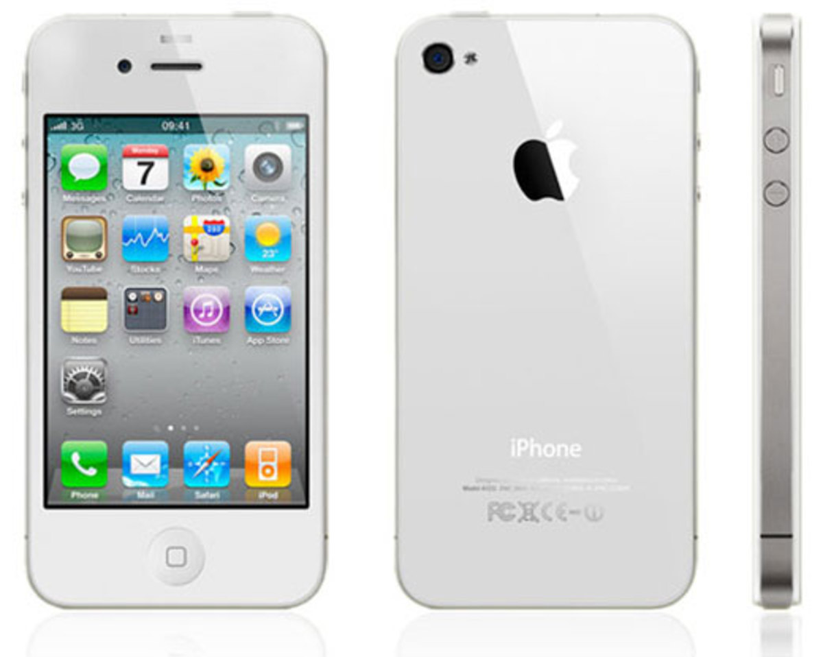 The only difference between the iPhone 4S and the iPhone 4 is the model number.