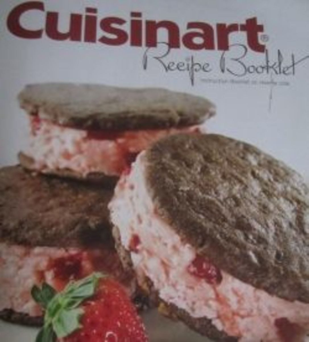 Cuisinart ICE-21 Recipe book