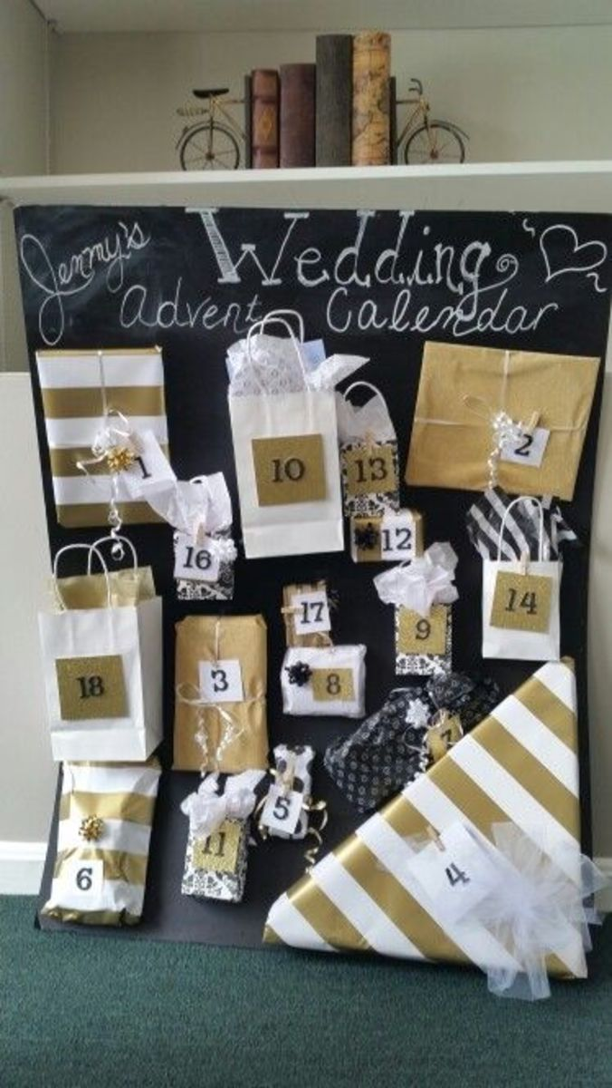 Wedding Advent Calendar Gifts Hubpages