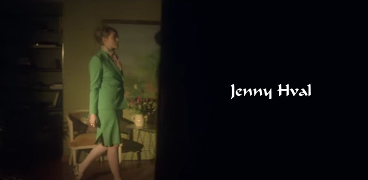 """Jenny Hval is bound to creep you out in her music videos. You may want to watch them alone where people can't watch your reactions. """"That Battle Is Over"""" is primal female energy."""