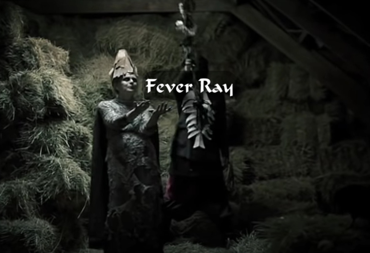 """Fever Ray doesn't shy away from imagery in their music videos. They come up with some striking and original images, like in this video, """"Seven""""."""