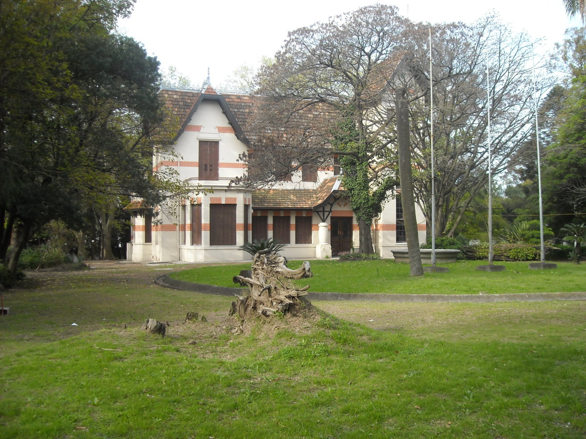 House of Dr Luis Alberto de Herrera, situated in Montevideo Department.
