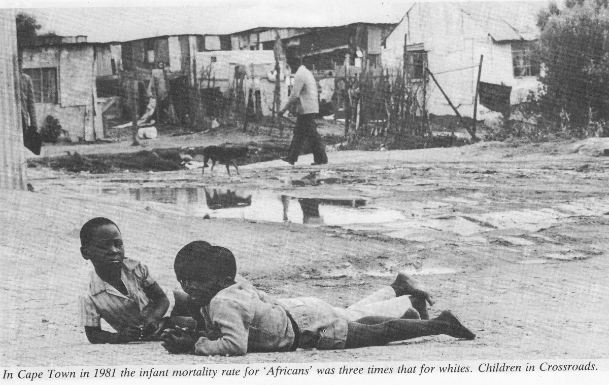Children under apartheid were exposed to all sort of dangers and ills due to lack of recreation and other amenities. Even today, with the ANC in power, children are still neglected