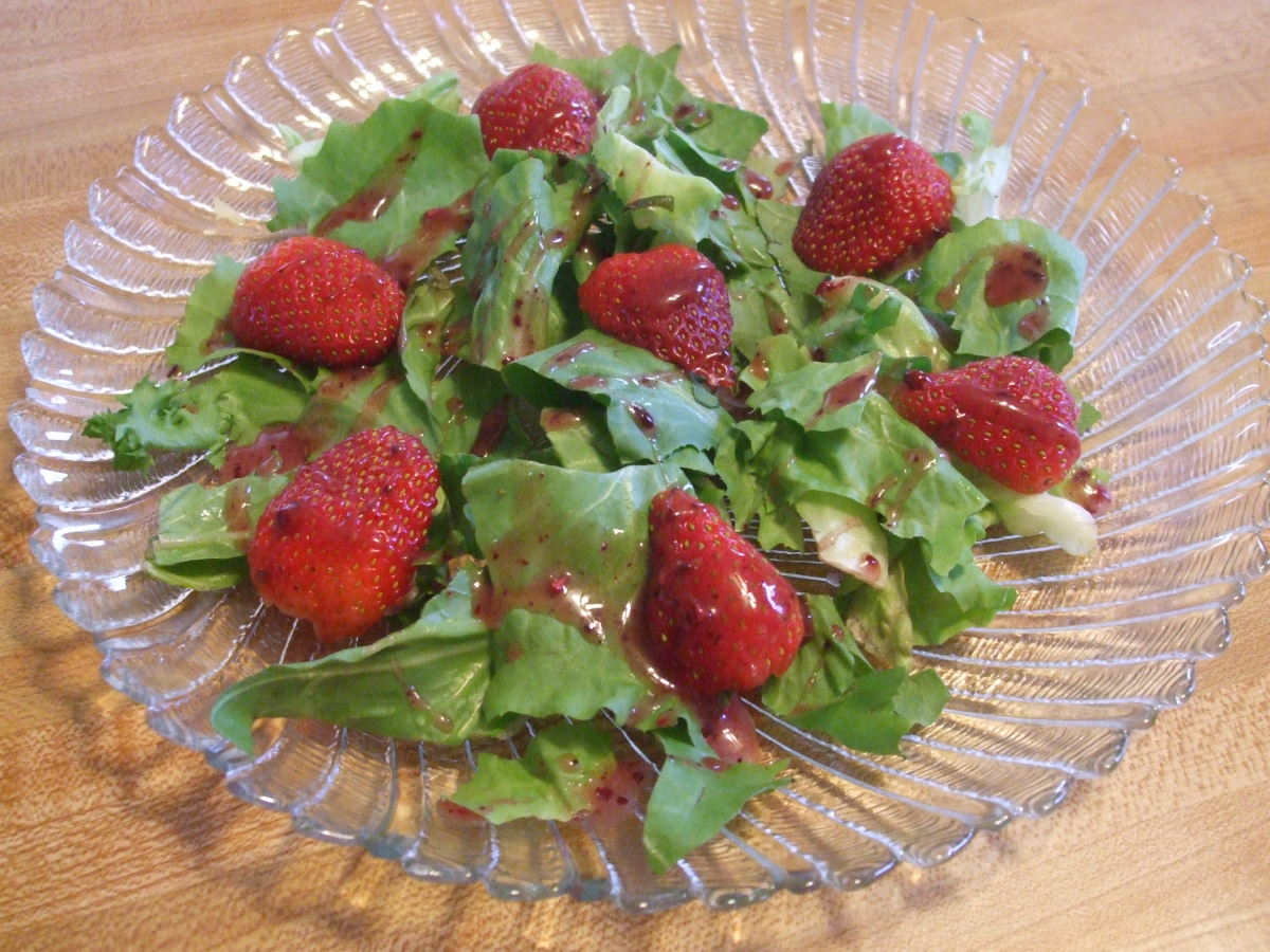 Another yummy Valentine's Day salad!