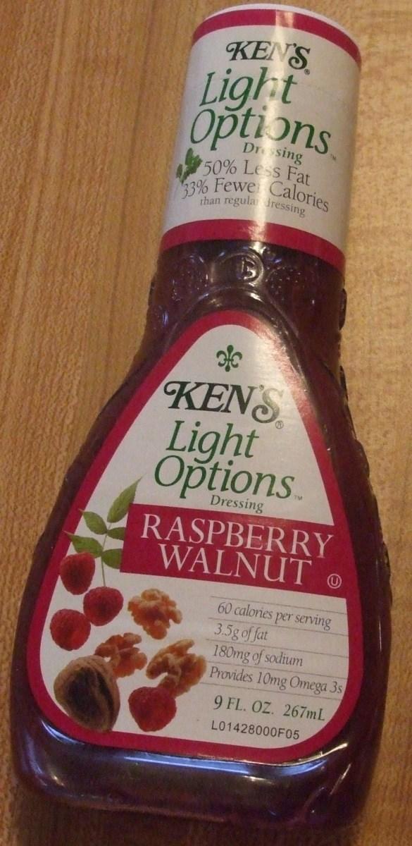 Raspberry Walnut light dressing.