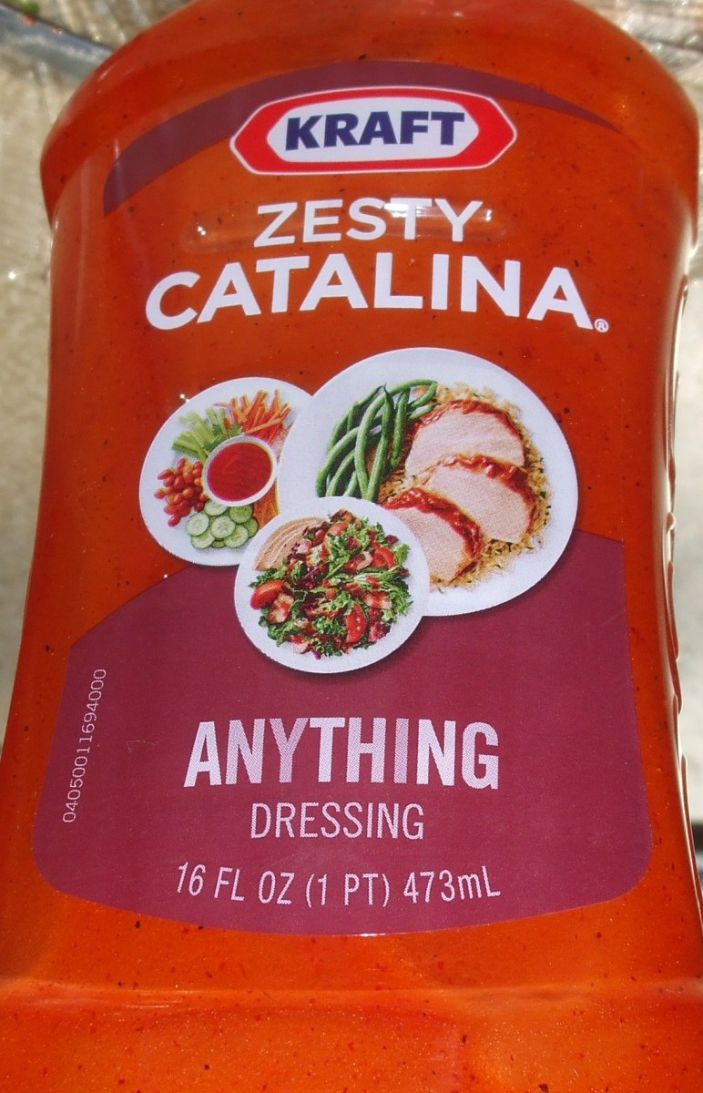 A zesty dressing.