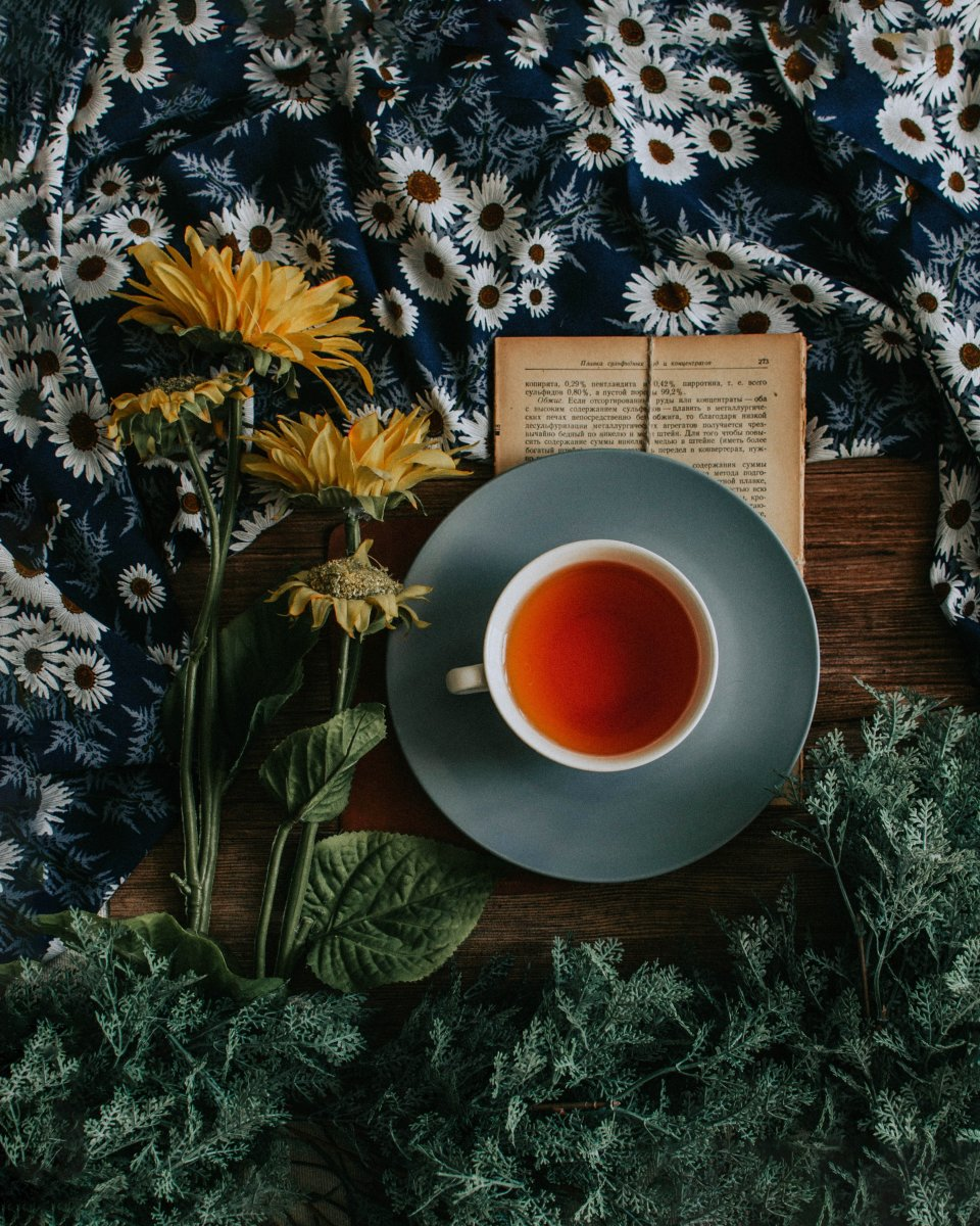 Lull yourself into restful dreams with a tea ritual.