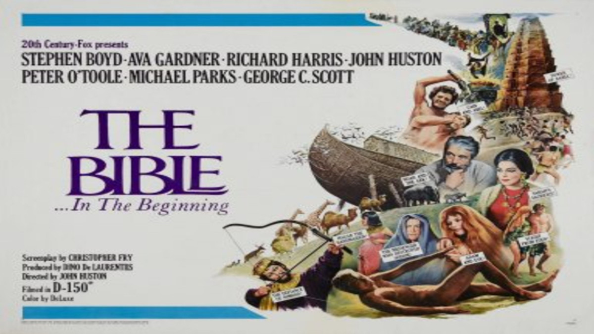 In 1966, The Bible was the highest-grossing film.