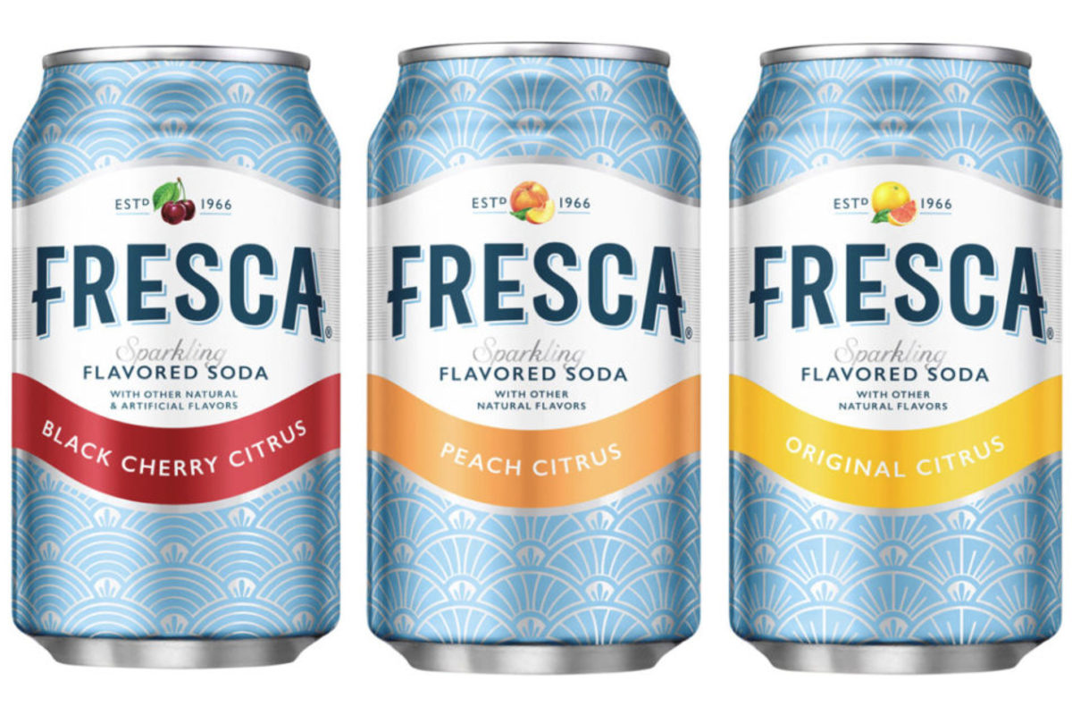 In 1966, the Coca-Cola Company introduced Fresca, a grapefruit-flavored citrus soft drink.