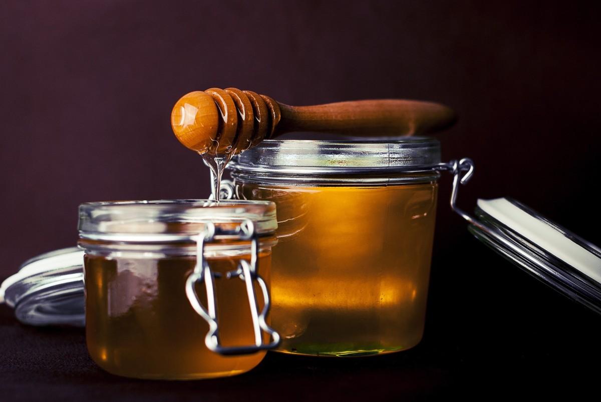 Honey is sweet