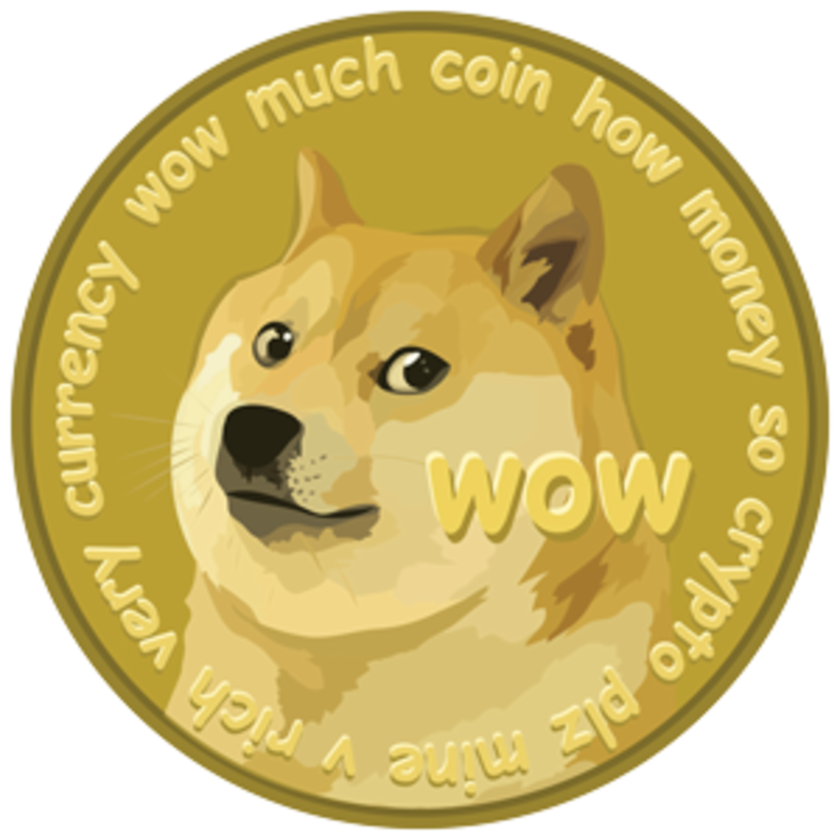 The alternate design for Dogecoin.