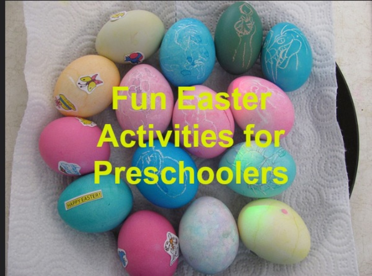 Add some new activities to your Easter repertoire beyond coloring eggs.