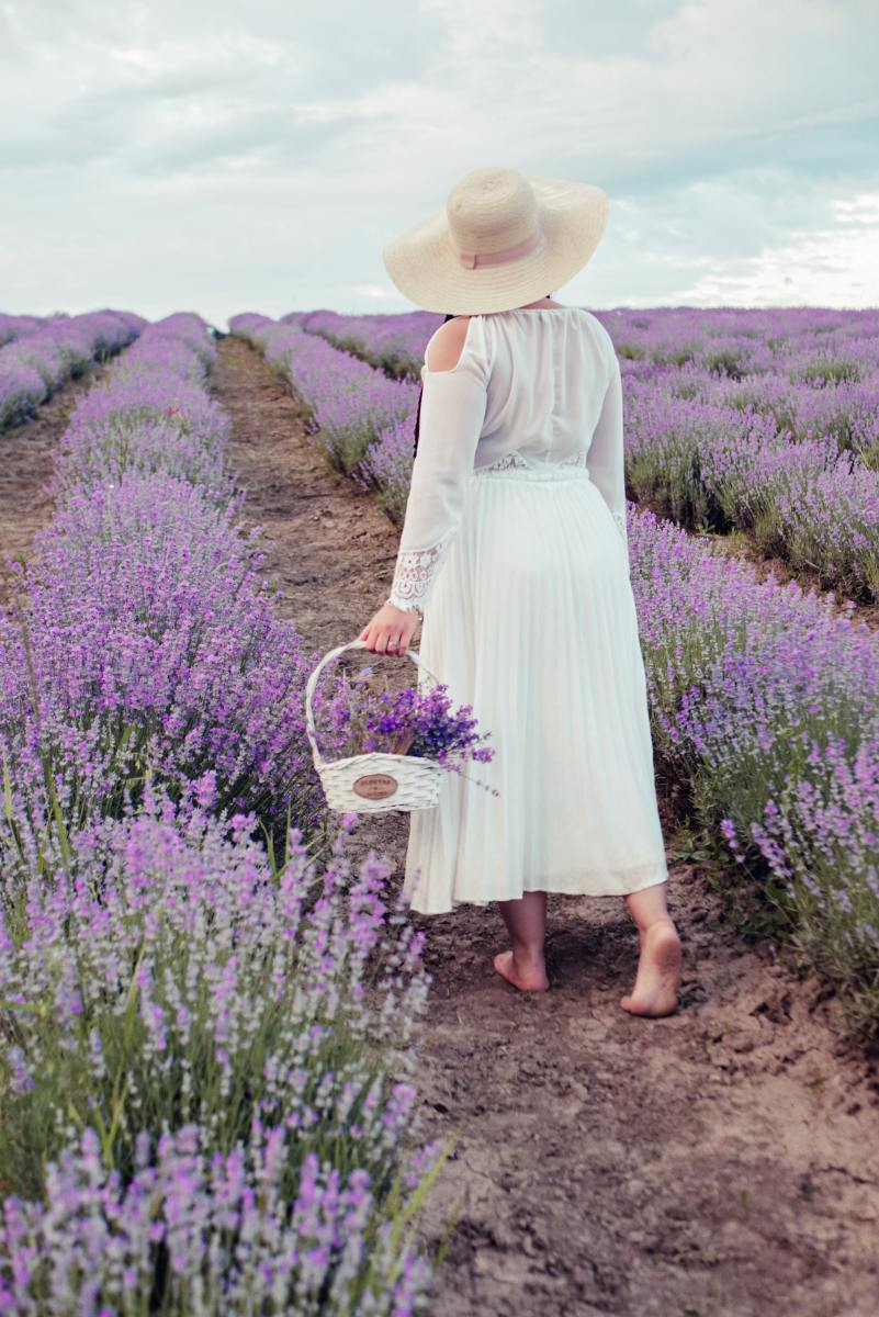 Lavender's soothing herbaceous fragrance uplifts our spirits and takes our mind off of stress.