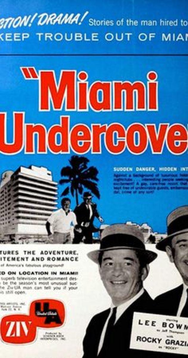Miami Undercover poster featuring Rocky Graziano