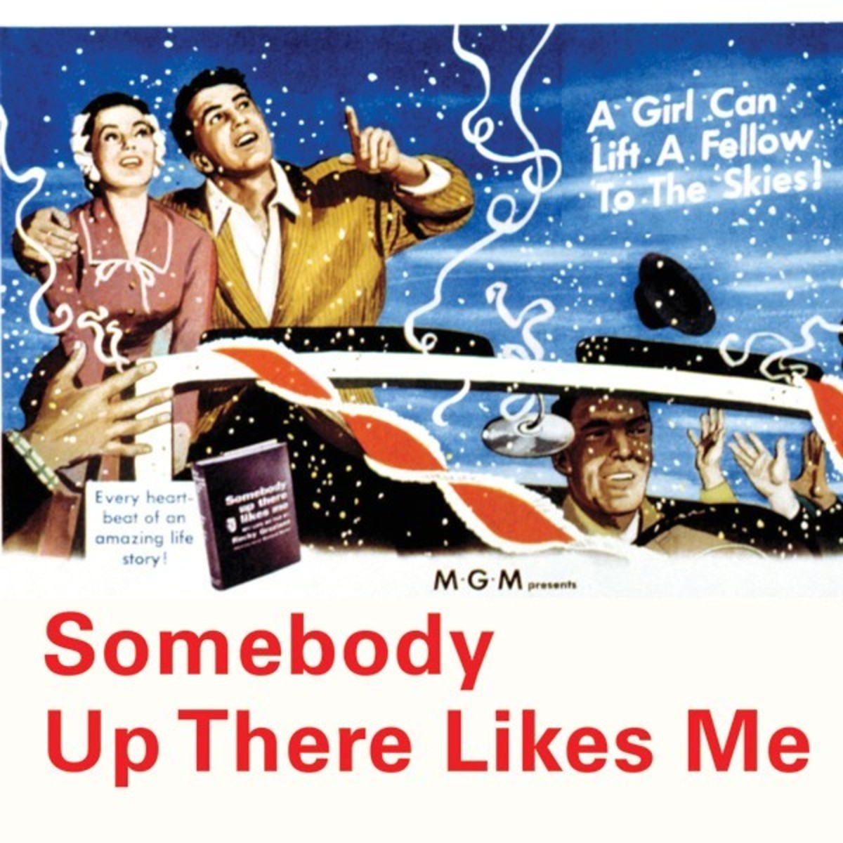 Movie poster for Somebody Up There Likes Me