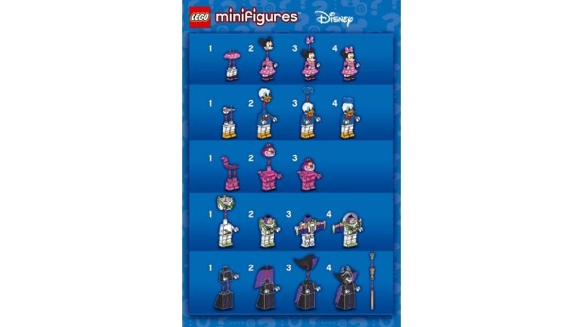 LEGO Disney Minifigures 71012 Instructions