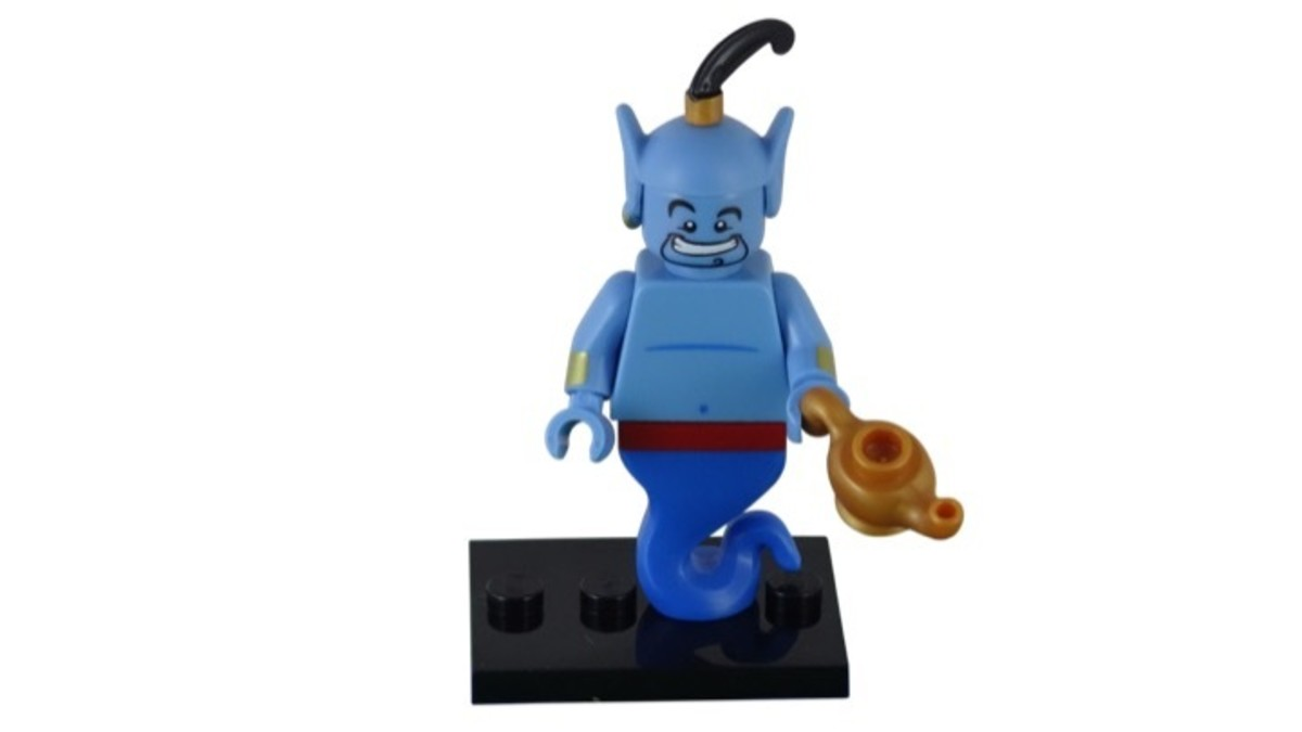 LEGO Disney Genie Minfigure 71012-5 Complete