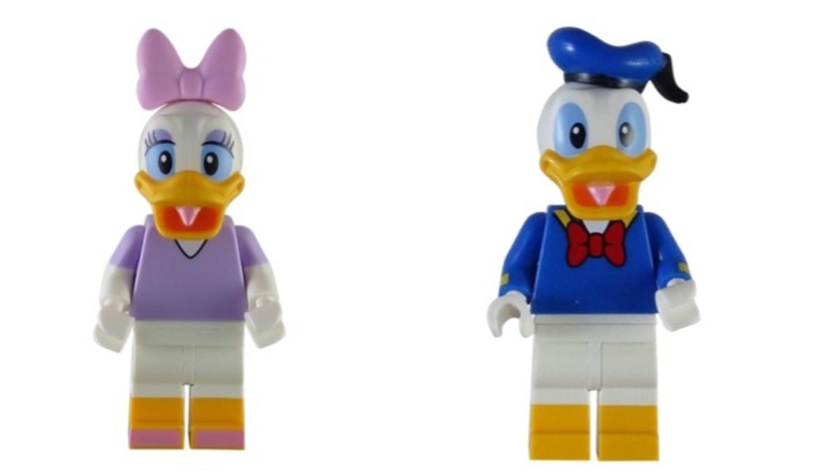 LEGO Daisy And Donald Duck Disney Series 1 Minifigures