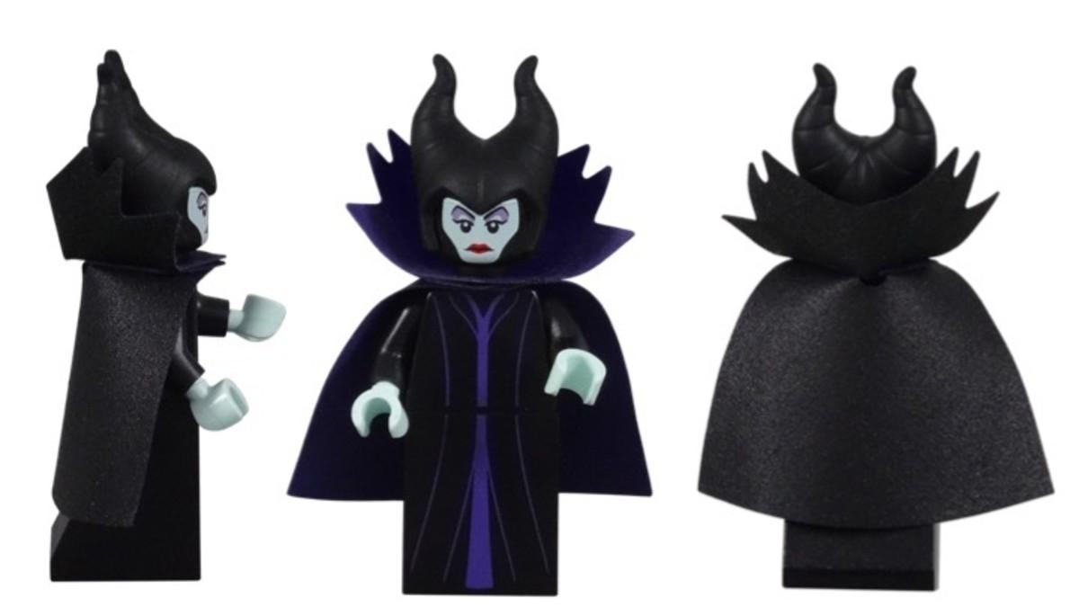 LEGO Disney Maleficent Minifigure 71012-6