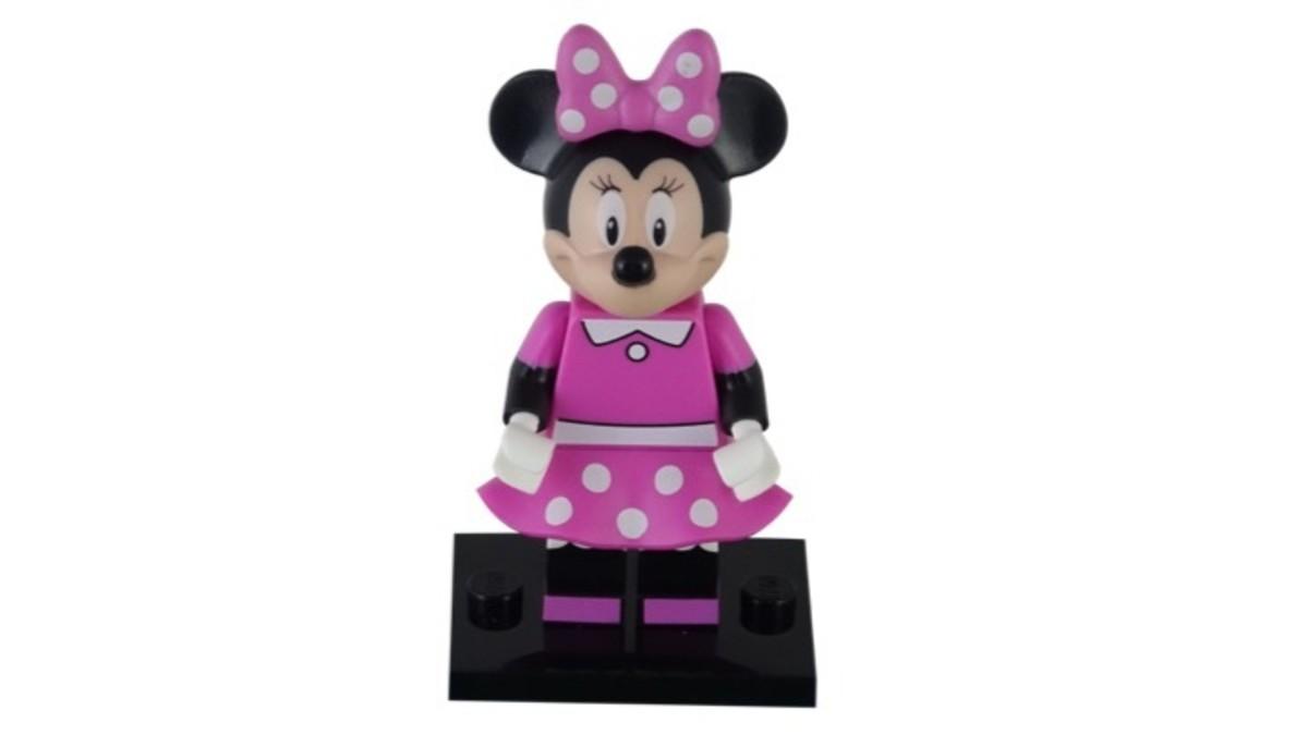 LEGO Disney Minnie Mouse Minifigure 71012-11 Complete