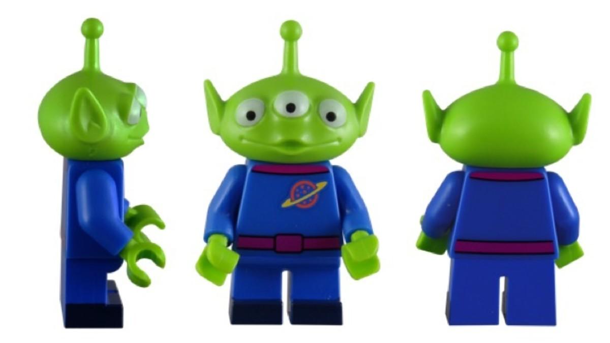 LEGO Disney Alien Minifigure 71012-2