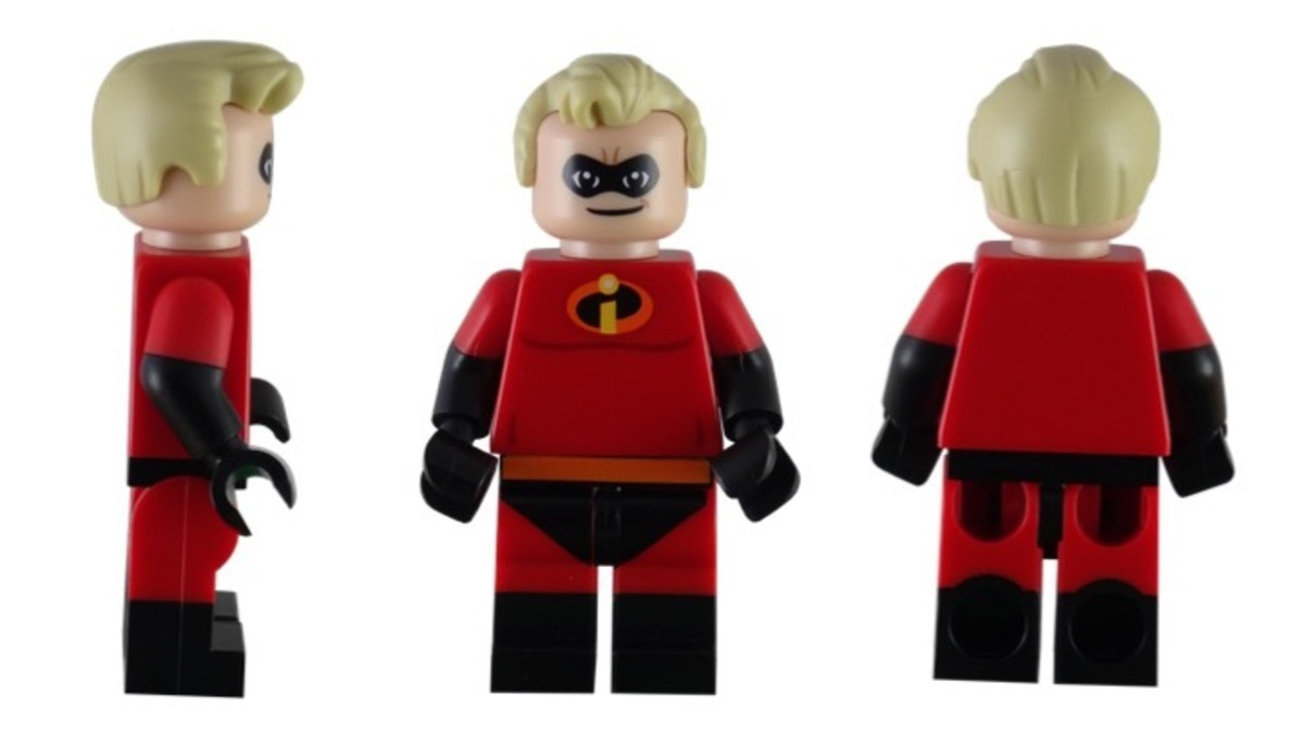 LEGO Disney Mr. Incredible Minifigure 71012-13