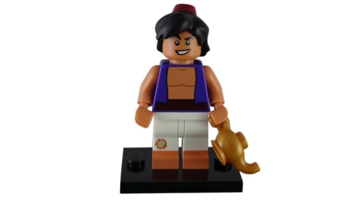 LEGO Disney Aladdin Minifigure 71012-4 Complete